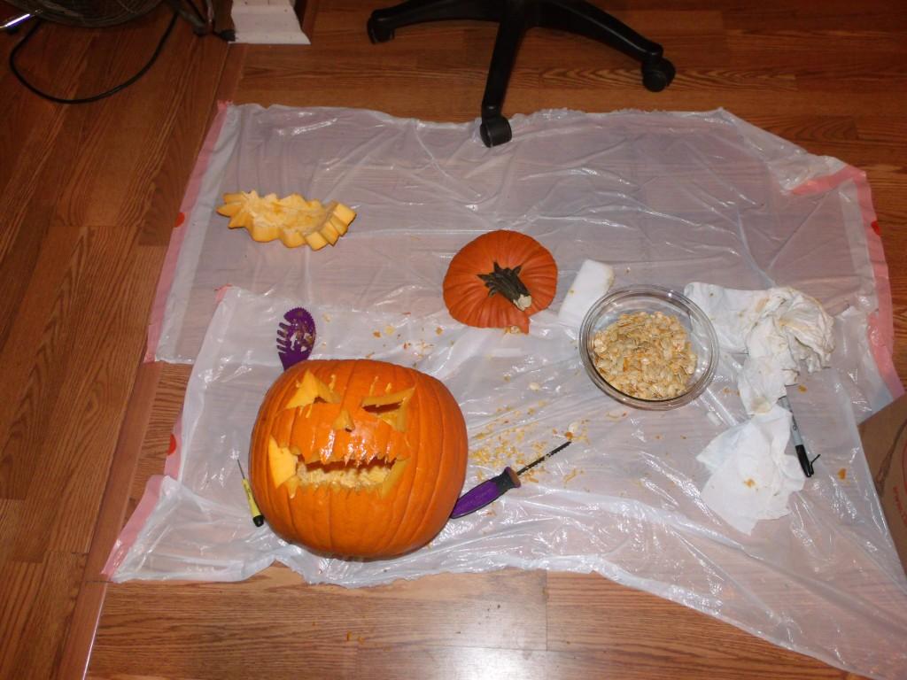 More Pumpkin Carving