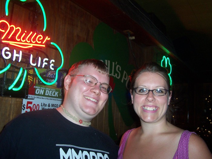 My Brother and I in 2006. Living the dream.