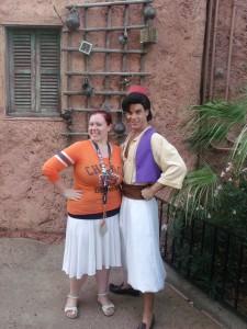 Best friends with Aladdin