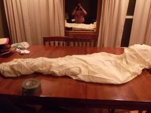Halloween Mummy Decoration