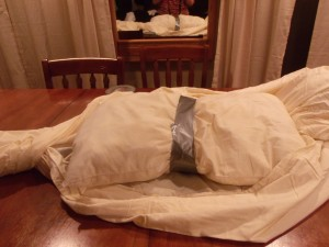 The Hanging Mummy