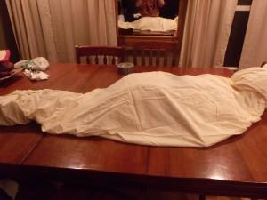 Making a Hanging Mummy