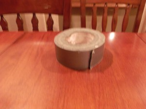 Duct Tape for Halloween Decoration