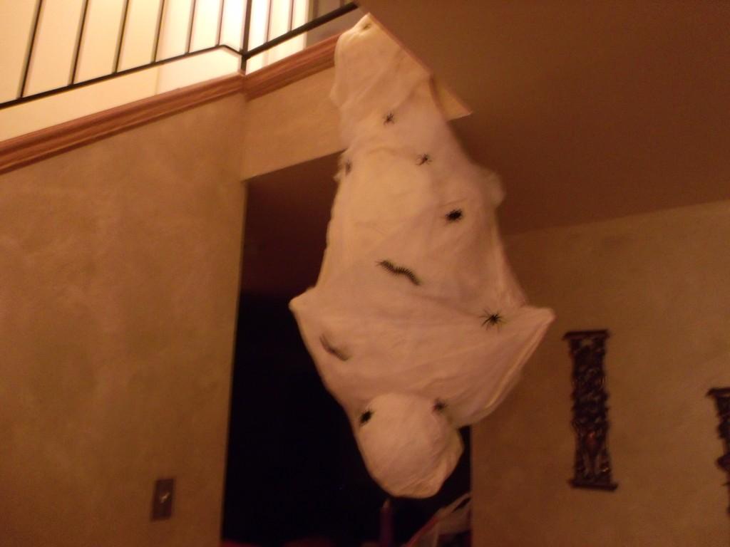 Hanging Cocoon Man