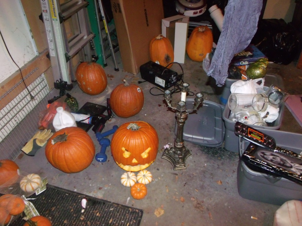 Pumpkins and Decorations Oh My!
