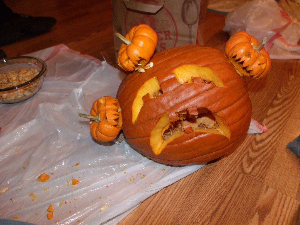Attack of the Baby Pumpkins