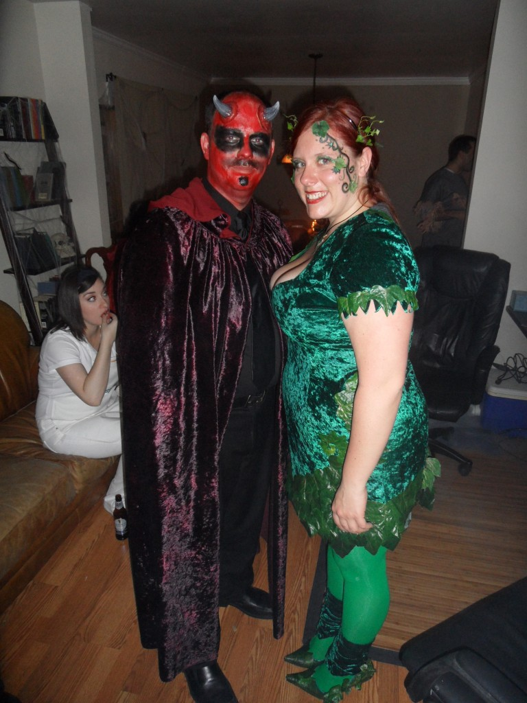 Poison Ivy and Satan
