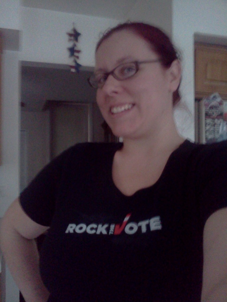 Rock the vote, don't waste it