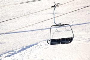 ski chair lift