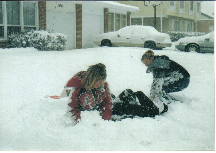 High school Snow day