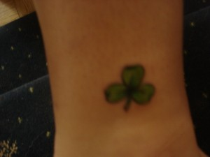 Three Leaf Clover Tattoo