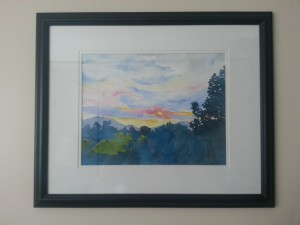 Sunset From the Driveway by Lillian Connelly