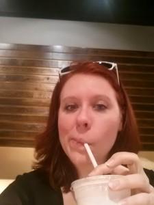 Milkshake from M Burger. YUM.