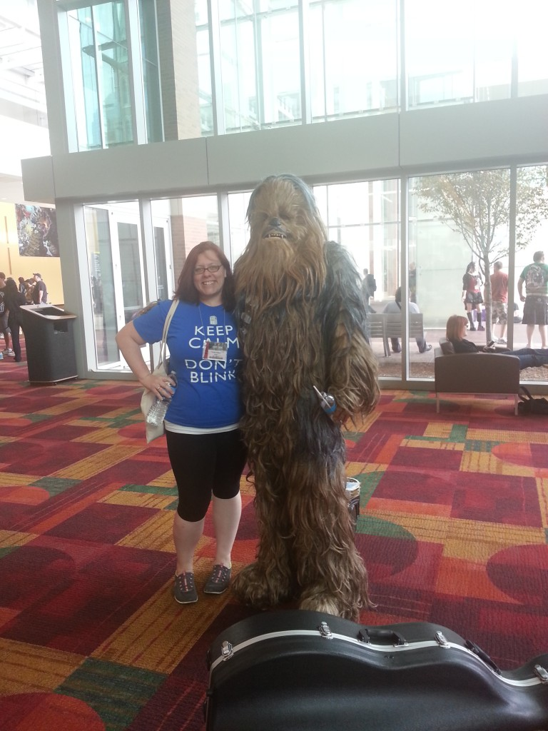 Chrissy and Chewbacca