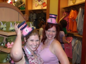 Katie and Chrissy Disney