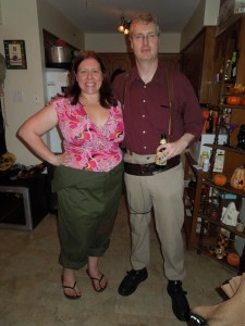 KayLee Frye and Malcolm Reynolds Costumes