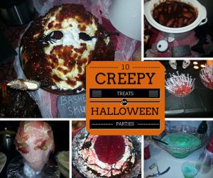 10 Creepy Halloween Snacks for parties