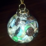 button filled ornament