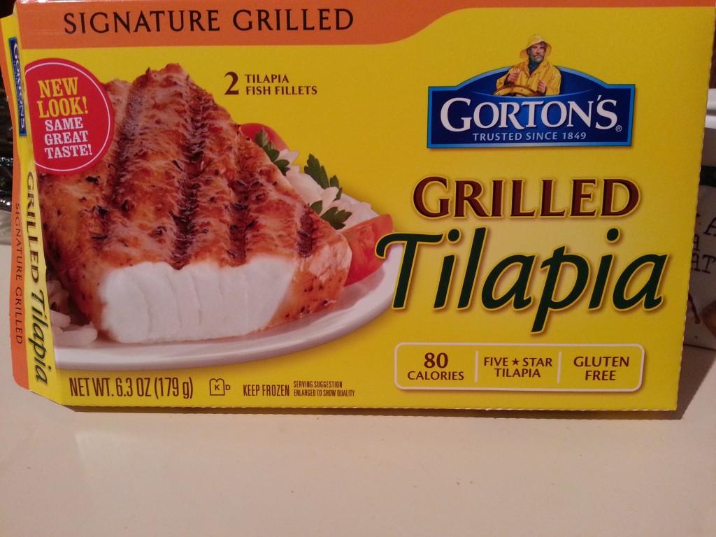 Gorton's Grilled Tilapia