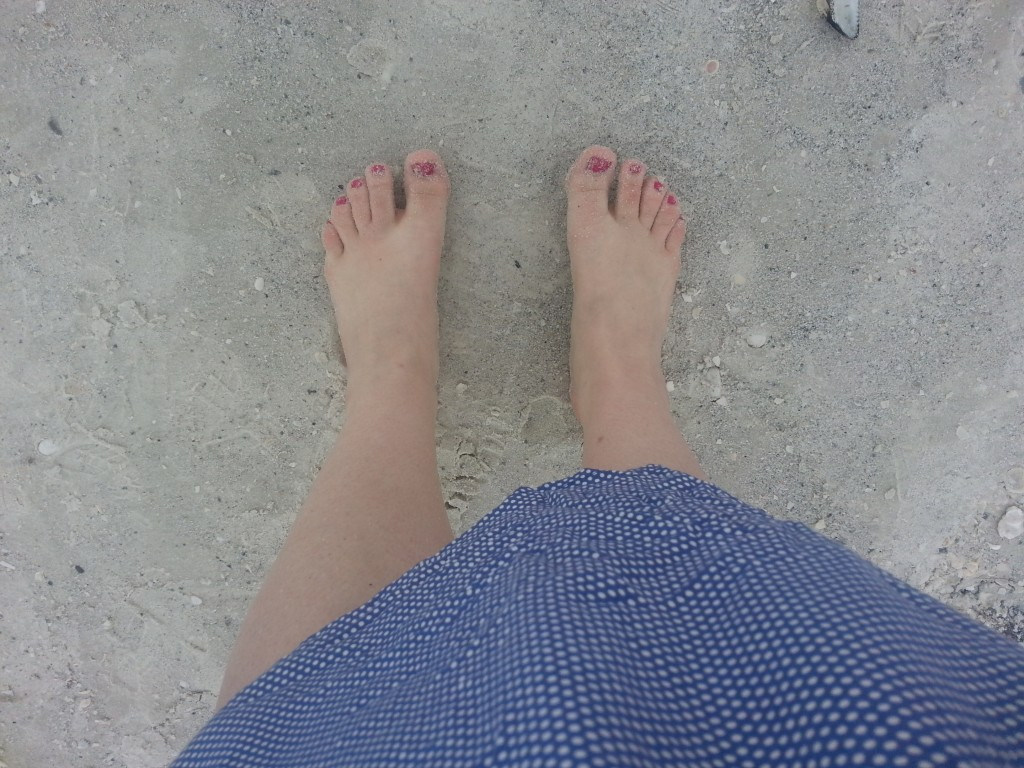 shaved legs