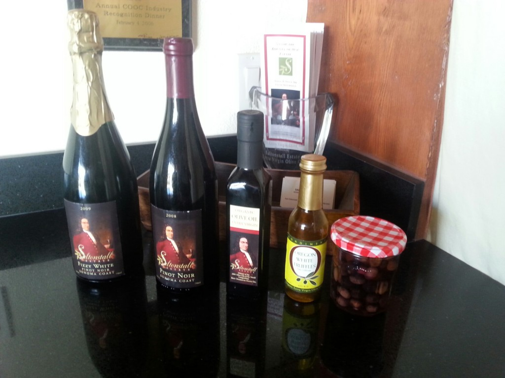Saltonstall Estate Olive Oil and Wine