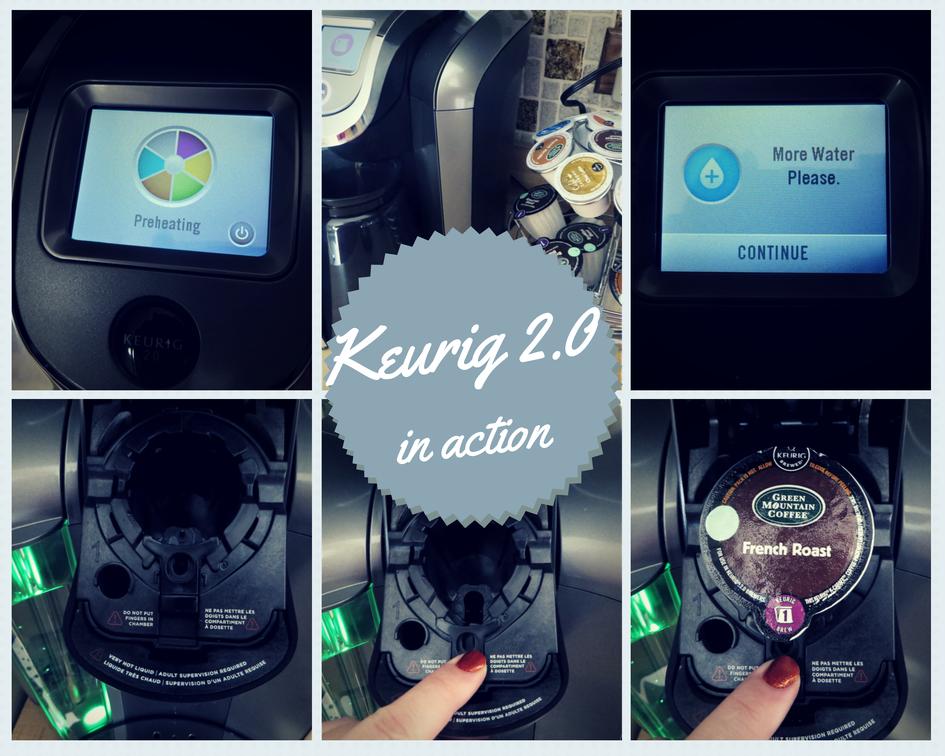 Keurig 2.0 in action