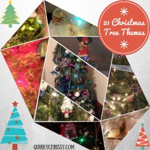 21 fun Christmas tree themes