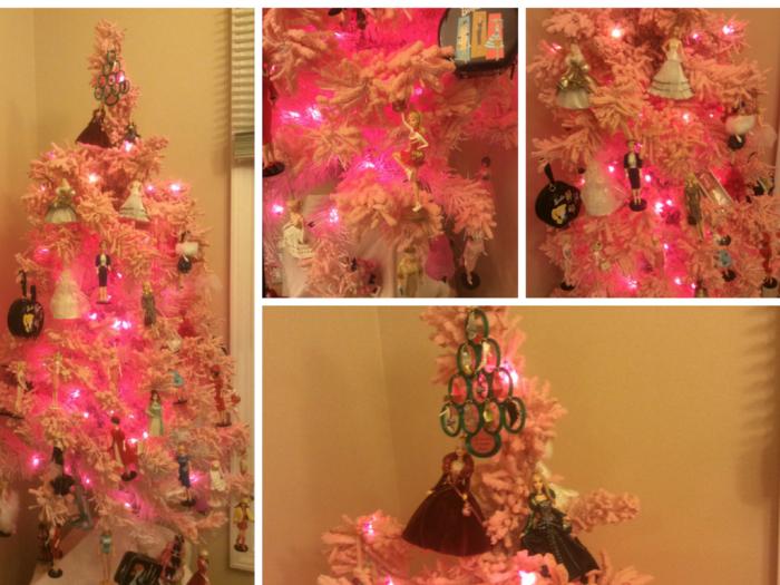 Pink Barbie Tree