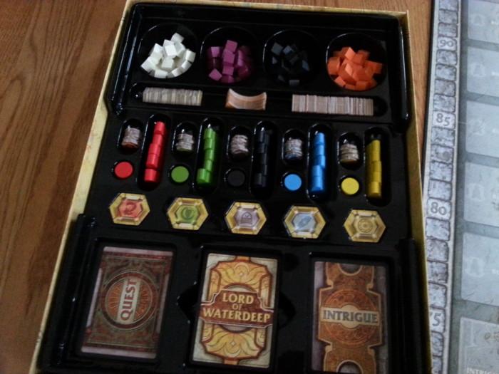 Lords of Waterdeep organized box
