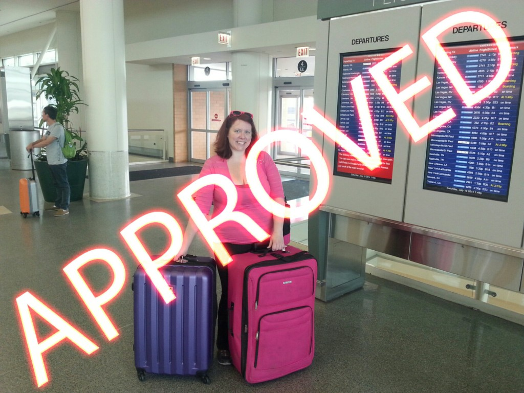 Approved flyer - No More TSA problems