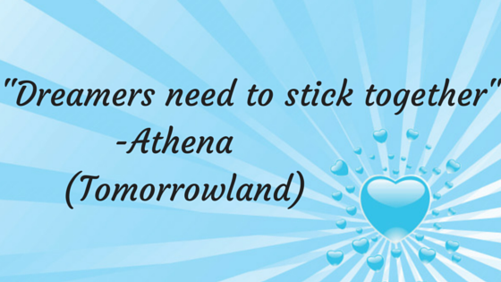 -Dreamers need to stick together-