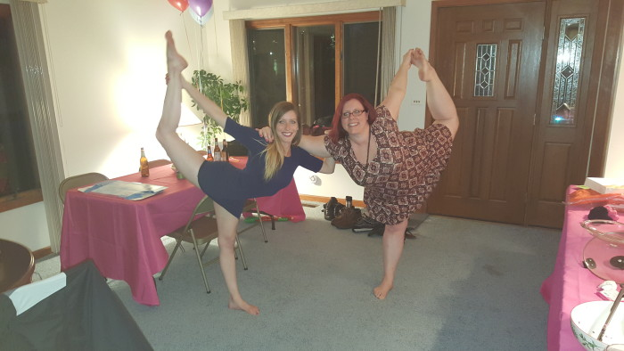 Double Dancer Pose