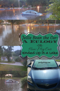 It's always hard to say goodbye to a car, but it's even harder when that car was flooded suddenly.