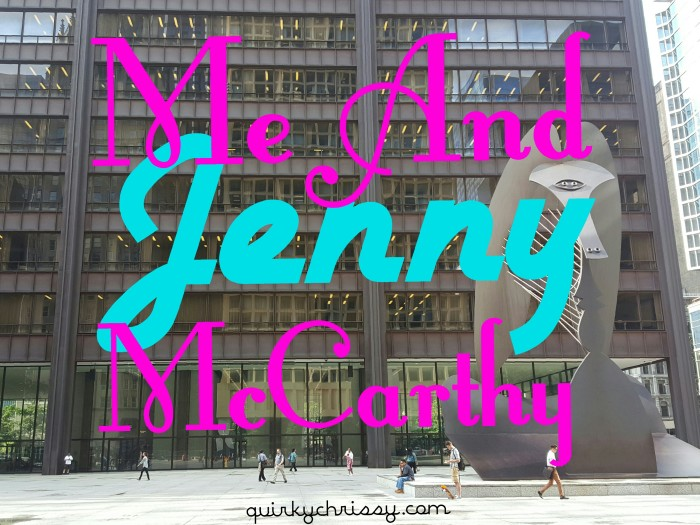 As a result of my Huffington Post essay about my first period, I'm going to be on the Jenny McCarthy radio show, Dirty, Sexy, Funny