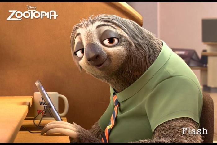 Zootopia Sloths - Flash