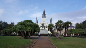 St. Louis Cathedral from Jackson Square