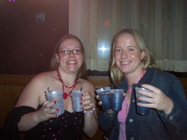 triple fisting cocktails