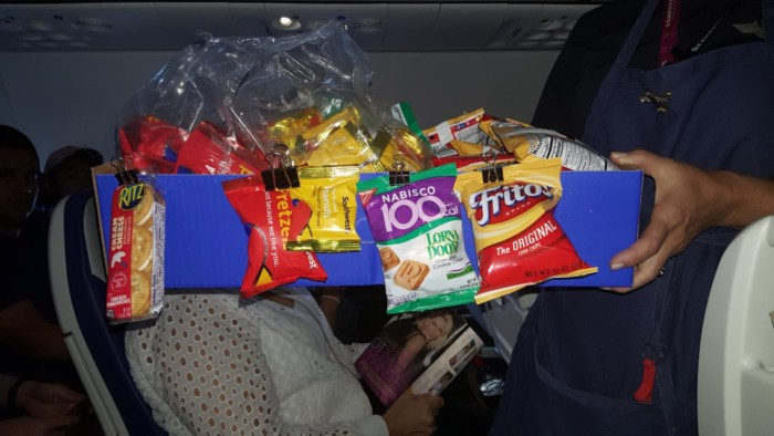 Southwest Airlines New Plane Snacks