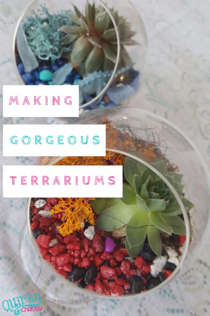 Making Gorgeous Terrariums