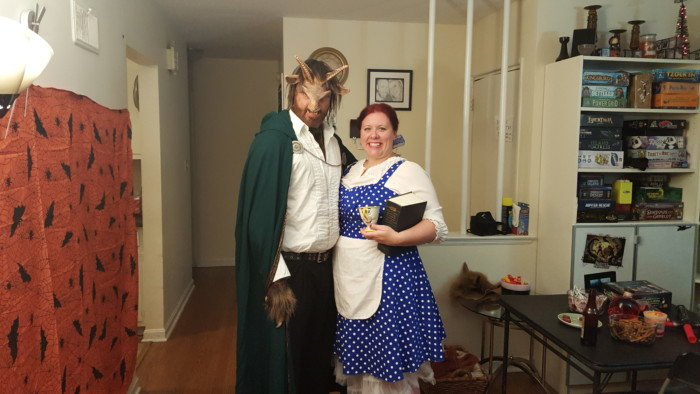 Beauty and the Beast Halloween costumes