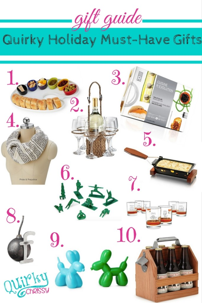 Quirky Gift Guide - 10 items from UncommonGoods that everyone should have