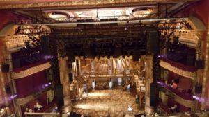 Empty Hamilton stage