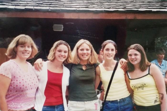 group of high school friends
