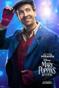 Mary Poppins Poster Jack Lin-Manuel Miranda