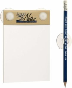 Aqua notes waterproof note pad