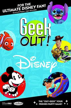 Geek Out Disney trivia game
