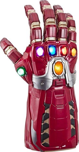 Iron Man electronic infinity gauntlet