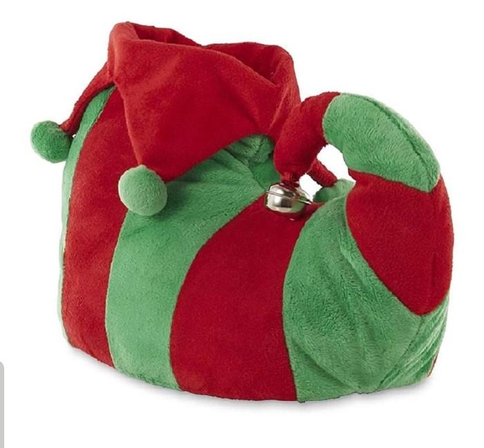 Christmas elf slippers