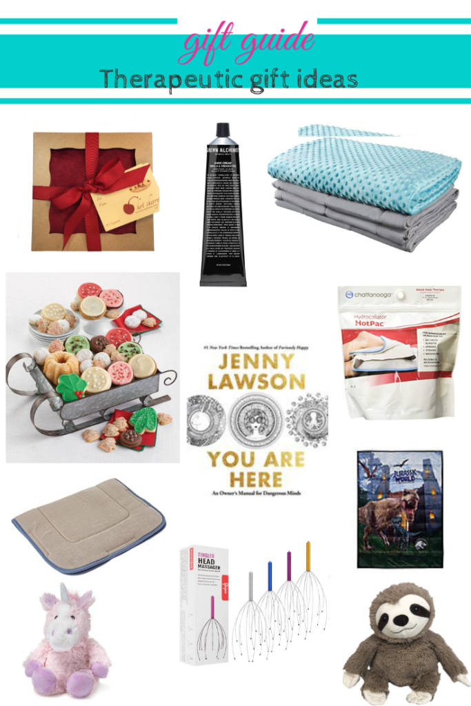 Images of gift ideas listed in the post