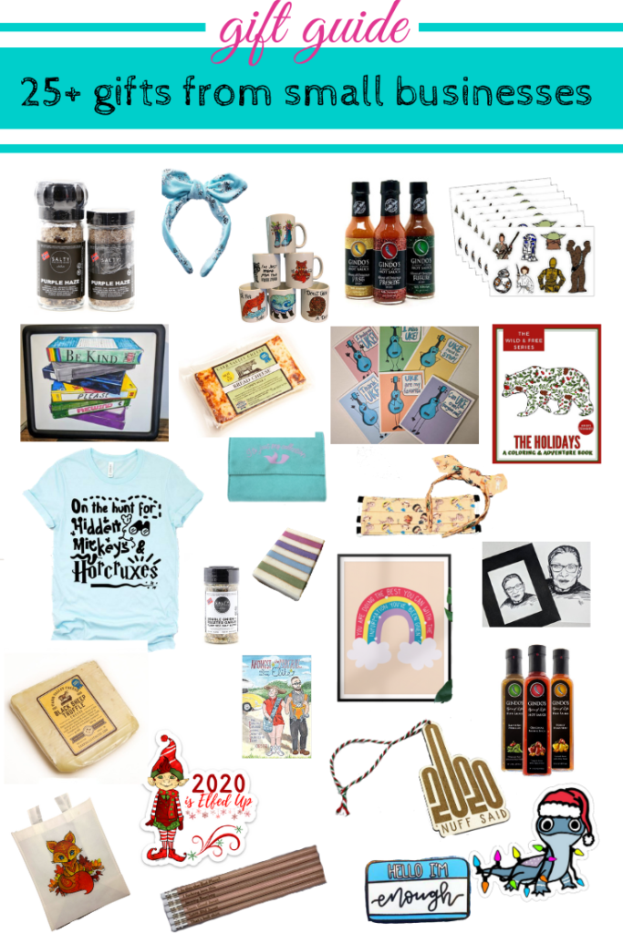 25+ gift ideas from small businesses